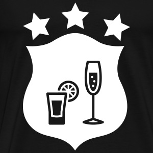 Barman / Cocktail T-Shirts - Männer Premium T-Shirt