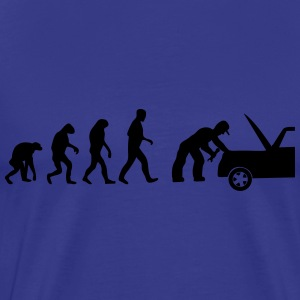mechaniker evolution T-Shirts - Männer Premium T-Shirt
