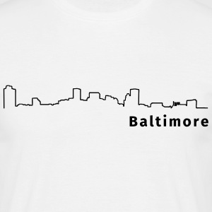 Baltimore T-shirts - Herre-T-shirt