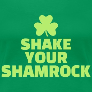 Shake your shamrock T-Shirts - Frauen Premium T-Shirt