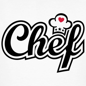 Chef  Chef's Hat   T-Shirts - Men's Organic T-shirt