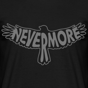 Nevermore Outline T-Shirts - Men's T-Shirt