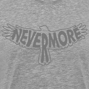 Nevermore Outline T-Shirts - Men's Premium T-Shirt