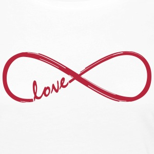 Forever Love! Infinity Loop, Eternal Knot, Valentine's Day,  Long Sleeve Shirts - Women's Premium Longsleeve Shirt