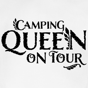 Camping Queen Baby on tour - Baby Bio-Kurzarm-Body