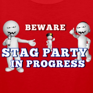 Stag Party - Men's Premium Tank Top