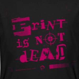 Print is not Dead T-Shirts - Männer Bio-T-Shirt