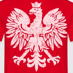 Polish Flag Eagle T-Shirts - Men's T-Shirt