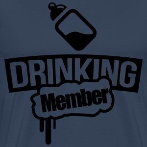 Milk bottle drinking member T-Shirts - Men's Premium T-Shirt