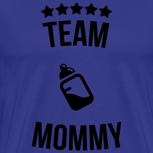 Team Mommy Mummy mother bottle milk T-Shirts - Men's Premium T-Shirt