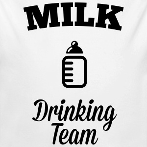 Milk drink team Hoodies - Longlseeve Baby Bodysuit