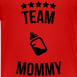 Team Mommy Mutti Mutter Fläschchen Milch T-Shirts - Kinder Premium T-Shirt