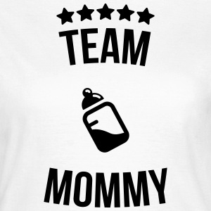 Team Mommy Mummy mother bottle milk T-Shirts - Women's T-Shirt