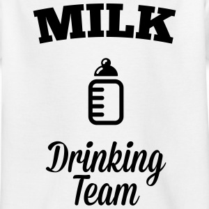 Milk drink team Shirts - Kids' T-Shirt
