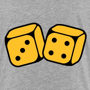 Dices With Number 3 and 4 (2C) Shirts - Kids' Premium T-Shirt