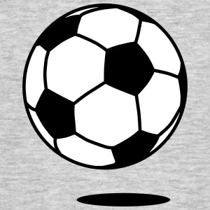 football with shadow / ball with shadow 2c T-shirts - Mannen T-shirt