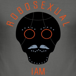 robosexual_vec_3 de T-Shirts - Männer Slim Fit T-Shirt