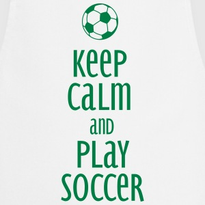 keep calm and play soccer Esiliinat - Esiliina