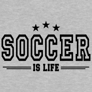 soccer is life 2 T-shirts - Baby-T-shirt