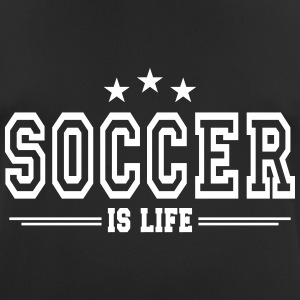 soccer is life 2 T-shirts - mannen T-shirt ademend
