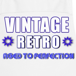 Vintage Retro Aged To Perfection - Cooking Apron