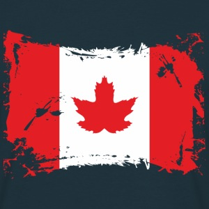T-Shirt Kanada Flagge / Canadian Flag - Männer T-Shirt
