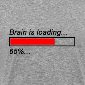 Brain is loading premium shirt - Männer Premium T-Shirt