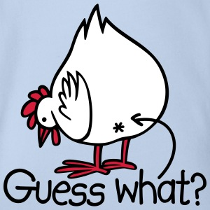 Guess what? (Chicken butt!) T-Shirts - Baby Bio-Kurzarm-Body