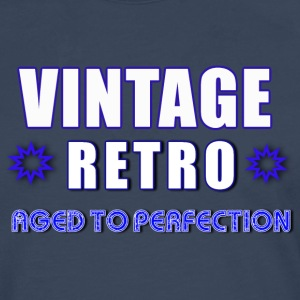 Vintage Retro Aged To Perfection - Men's Premium Longsleeve Shirt