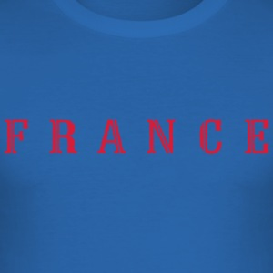 FRANCE  de - Männer Slim Fit T-Shirt