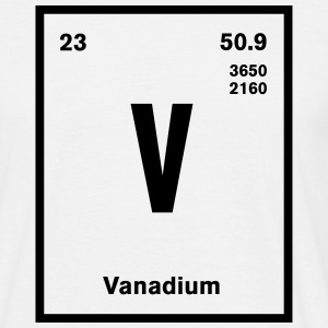 Vanadium Element im Periodensystem T-Shirts - Männer T-Shirt