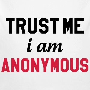Trust me I am Anonymous Pullover & Hoodies - Baby Bio-Langarm-Body