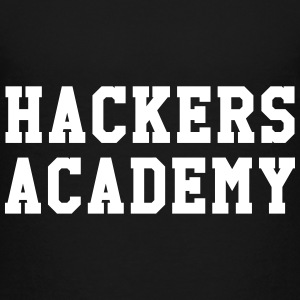 Hackers Academy Shirts - Teenage Premium T-Shirt