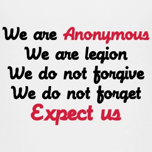 Anonymous Shirts - Teenager Premium T-shirt