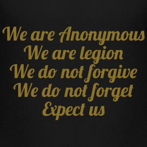 Anonymous Shirts - Teenage Premium T-Shirt
