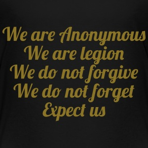 Anonymous Skjorter - Premium T-skjorte for barn