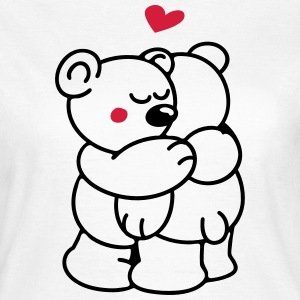 Teddys in Love T-Shirts - Frauen T-Shirt