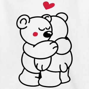 Teddys in Love T-Shirts - Teenager T-Shirt