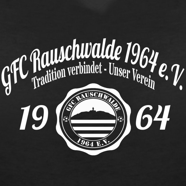 Frauen 1964  - V-Shirt Schwarz
