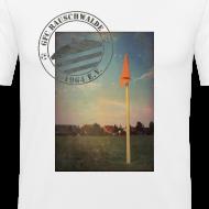 Motiv ~ Männer Sportplatz  - Shirt SLIM Weiß