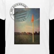Motiv ~ Teenager Sportplatz  - Shirt Weiß