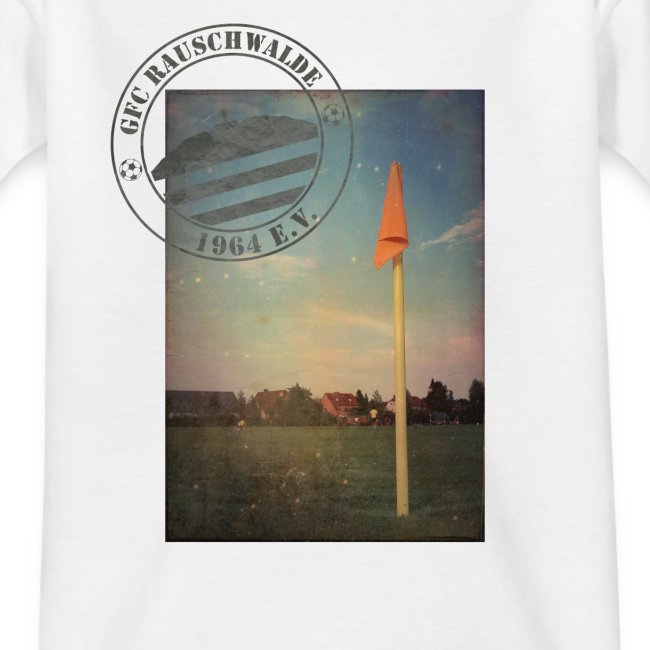 Teenager Sportplatz  - Shirt Weiß