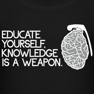 knowledge is a weapon Shirts - Teenage Premium T-Shirt