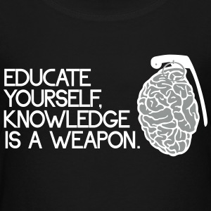 knowledge is a weapon T-shirts - Børne premium T-shirt