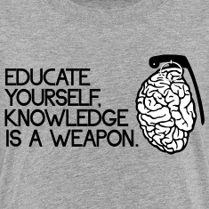 knowledge is a weapon Shirts