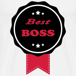 Best boss 111 T-shirts - Herre premium T-shirt