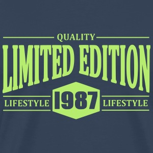 Limited Edition 1987 T-shirts - Premium-T-shirt herr