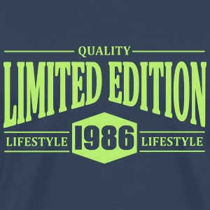 Limited Edition 1986 T-skjorter - Premium T-skjorte for menn