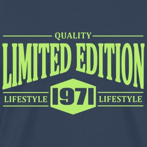 Limited Edition 1971 T-shirts - Herre premium T-shirt
