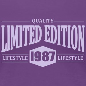 Limited Edition 1987 T-Shirts - Women's Premium T-Shirt
